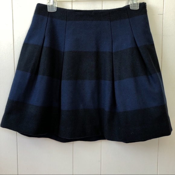 Madewell Dresses & Skirts - Madewell Striped Wool Skirt 2